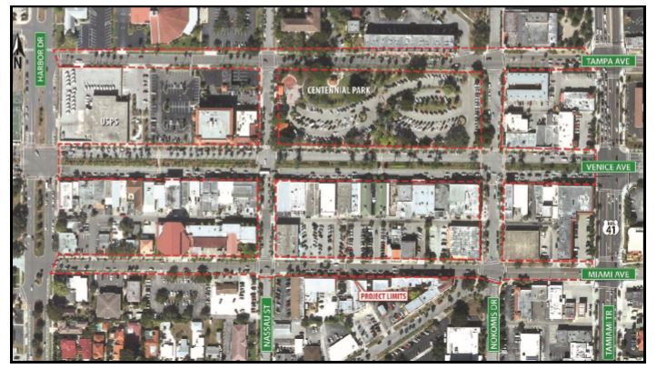 Downtown Roadwork  Map