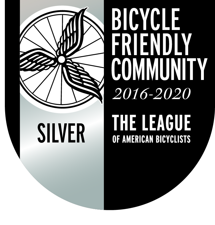 2016 Bicycle Friendly Community Silver