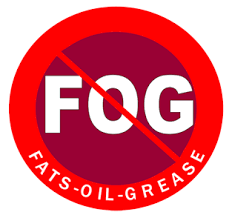 No Fats Oils or Grease logo