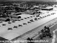 Venice Army Base with Airplanes