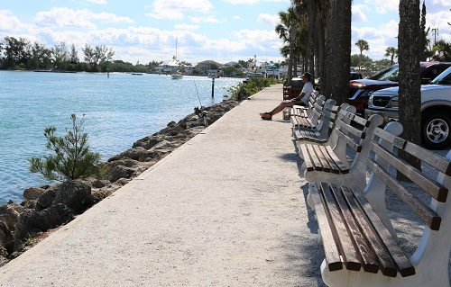 Jetty benches