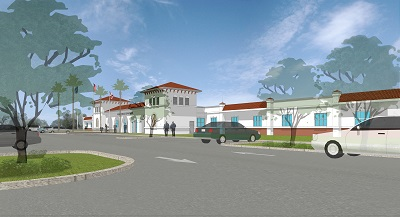 Venice Public Safety Facility rendering