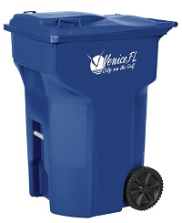 RollOut new single stream recycling cart