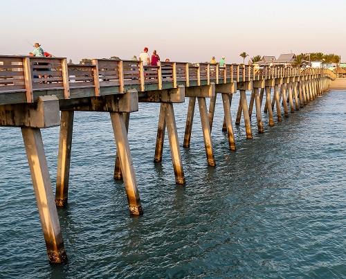 Fishing Pier anglers Feb. 2020