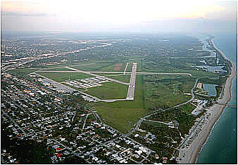 Aerial View of Venice Municipal Airport